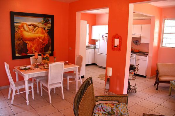 Dining Area - Casa Magnolia - Isla de Vieques - rentals