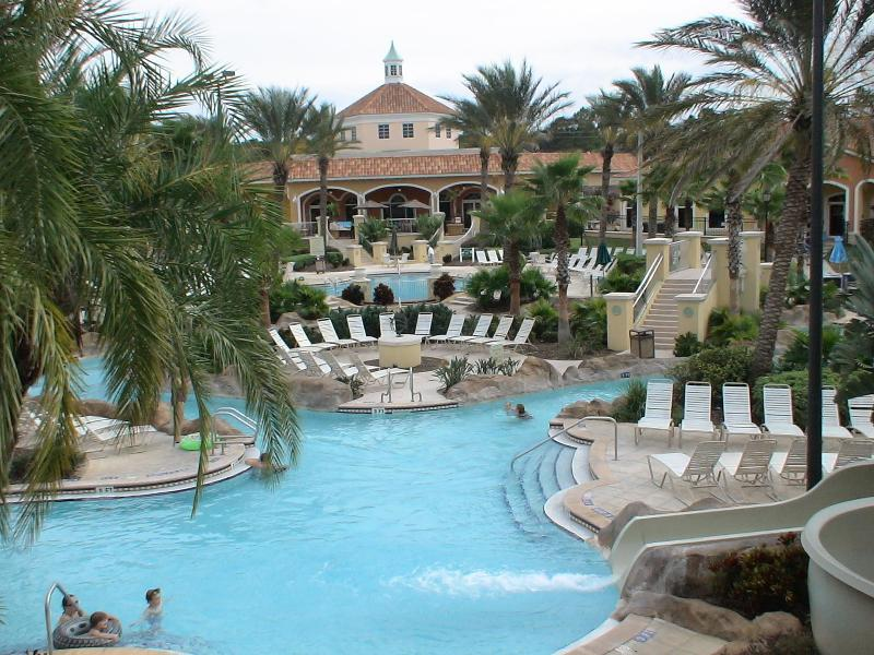 Swimming Pool - Elegantly Appointed Regal Palms Resort Home in FLA - Davenport - rentals