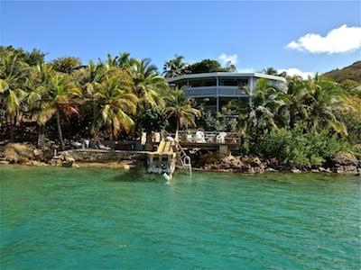 Villa Chai Light's Oceanfront view - Virgin Gorda's Waterfront Eden - Villa Chai Light - Virgin Gorda - rentals