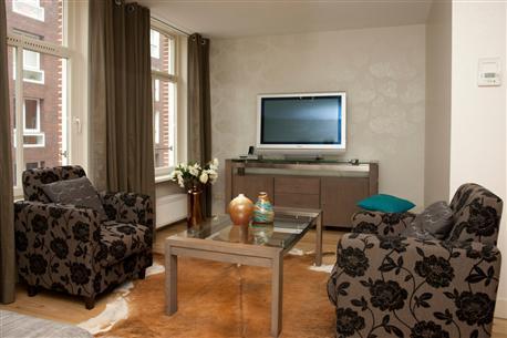 Living Room 1 JB Platinum Apartment Amsterdam - JB Platinum - Amsterdam - rentals