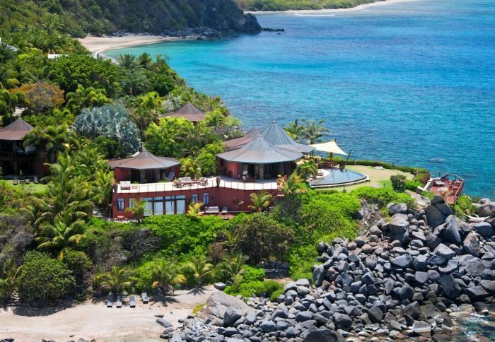 Luxury 5 bedroom Virgin Gorda, BVI villa. Private Beach, Chef and Spa/Yoga Pavilion - Image 1 - Nail Bay - rentals