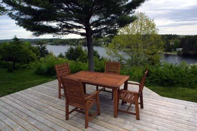 Views from the deck of Blown Away Cottage - #21 Blownaway Cottage, Tantallon  NS - Tantallon - rentals