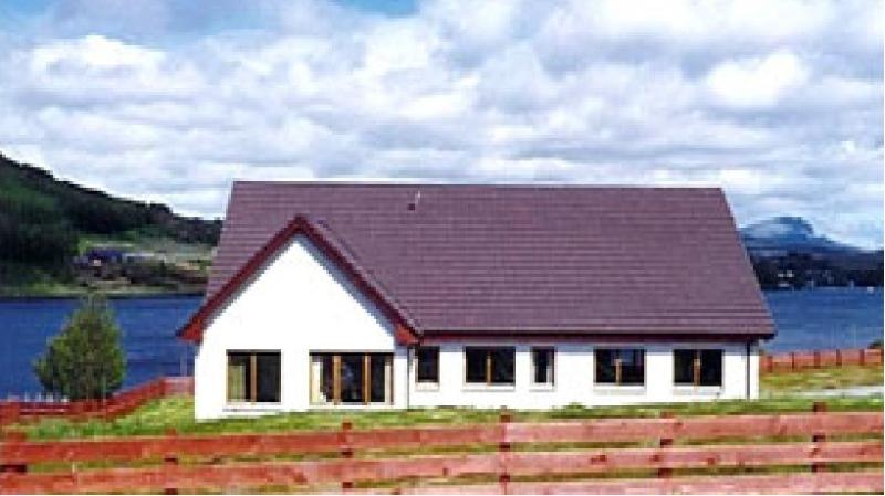 Heatherfield Lodge with panoramic views - Heatherfield Lodge - luxury home, fantatstic views - Portree - rentals