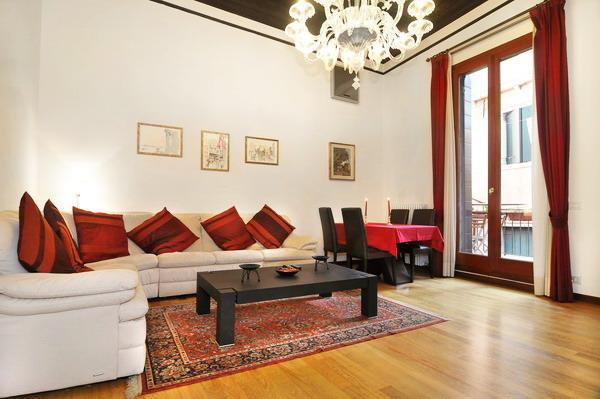 The ample corner sofa - Ca' Della Commedia - Venice - rentals