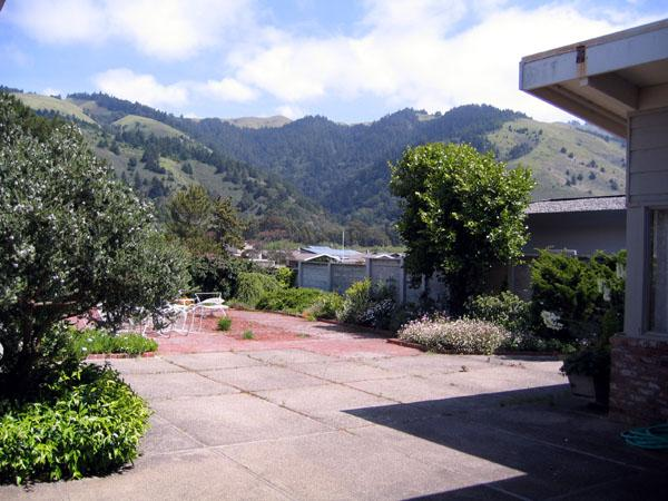 Front Patio - The Graham House - Stinson Beach - rentals