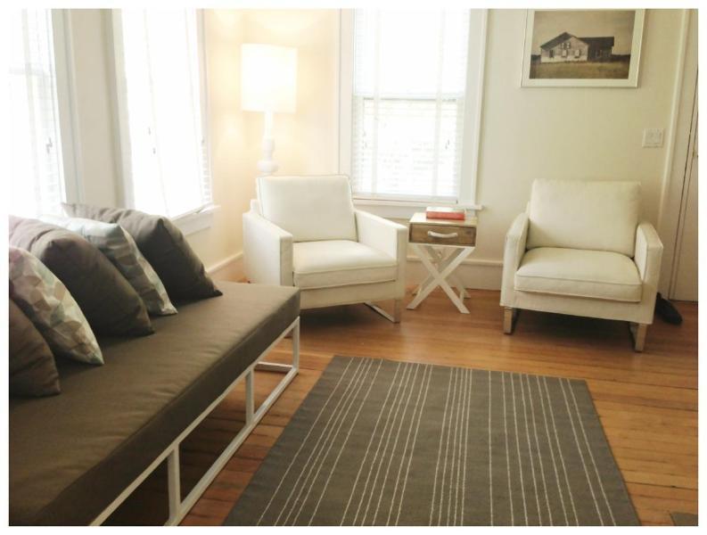 Living Room - Forever Cottage 1-Bdrm  & separate boutique Studio - Sag Harbor - rentals