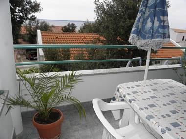 A2(4+1): terrace - 3449 A2(4+1) - Petrcane - Petrcane - rentals