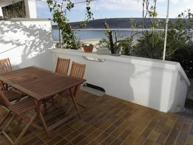 A3(4+2): terrace - 3465 A3(4+2) - Stara Novalja - Stara Novalja - rentals