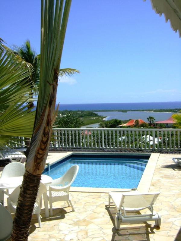 PLAGE d'ELAN...3 BR overlooking Orient Bay with spectacular sunrise! - Image 1 - Orient Bay - rentals