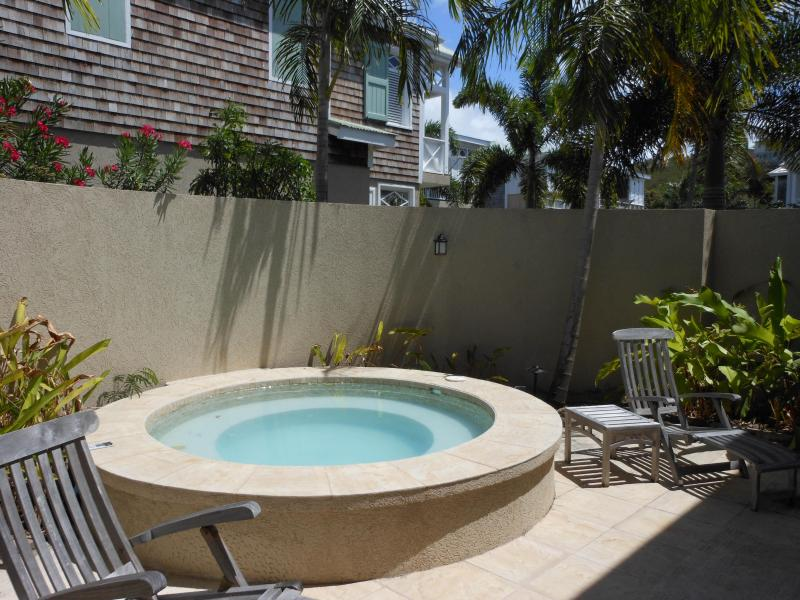 Wonderful Private Couryard with Spa - Perfect Holiday Home Overlooking Freeform Pool - Nevis - rentals