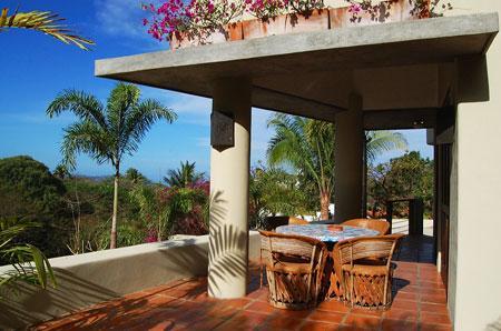 Garden Dining Terrace - Casita las Piedras - Near town/beach! - San Pancho - San Pancho - rentals
