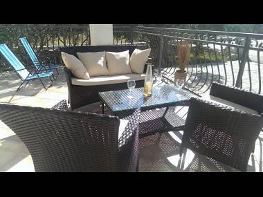 A1(2+2): terrace - 4315 A1(2+2) - Milna (Brac) - Milna (Brac) - rentals