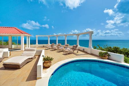 Terrasse De Mer - Deluxe hillside villa with beautiful pool, Jacuzzi & stunning views - Image 1 - Terres Basses - rentals