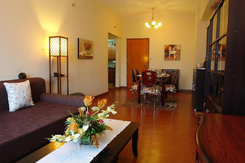 Brand New luxury Parkview Suite, Living Room - Exceptionally Well Furnished 2Bedroom Luxury Condo - Quezon City - rentals