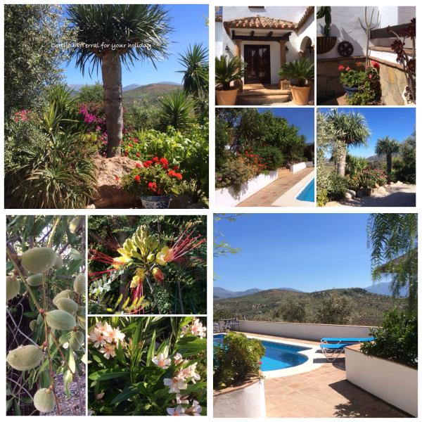 Welcome to  Cortijo El Terral - Beautiful Secluded Cortijo with Private Pool and W - Riogordo - rentals