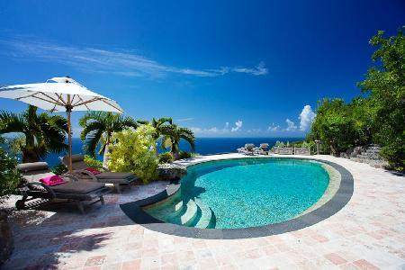 Deluxe villa Cristobal on 75 acresoffers total privacy, heated pool & minutes to beach - Image 1 - Gouverneur - rentals