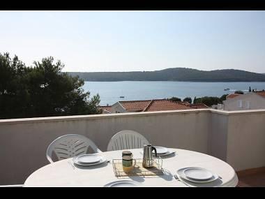 B18(6+2): terrace view - 4421 B18(6+2) - Milna (Brac) - Milna (Brac) - rentals
