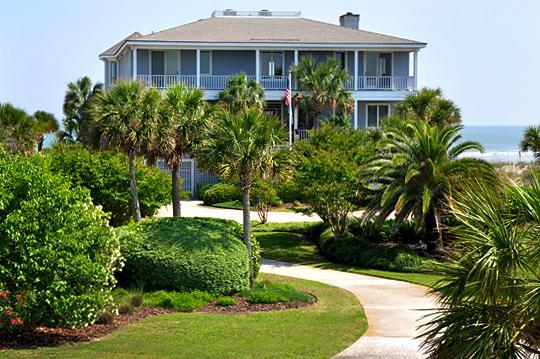 Front Exterior - Elegant, 6 Bedroom, Oceanfront with Hot Tub! - Isle of Palms - rentals