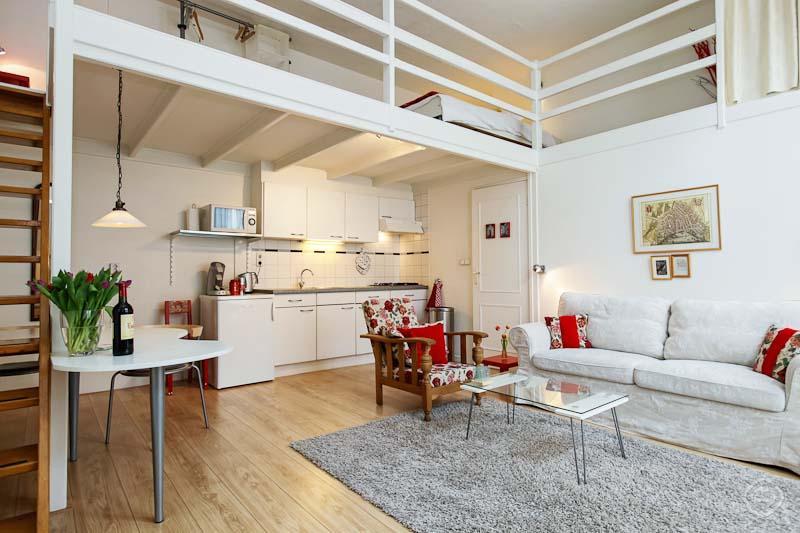 Living Room Studio Boom Apartment Amsterdam - Studio Boom Amsterdam - Amsterdam - rentals