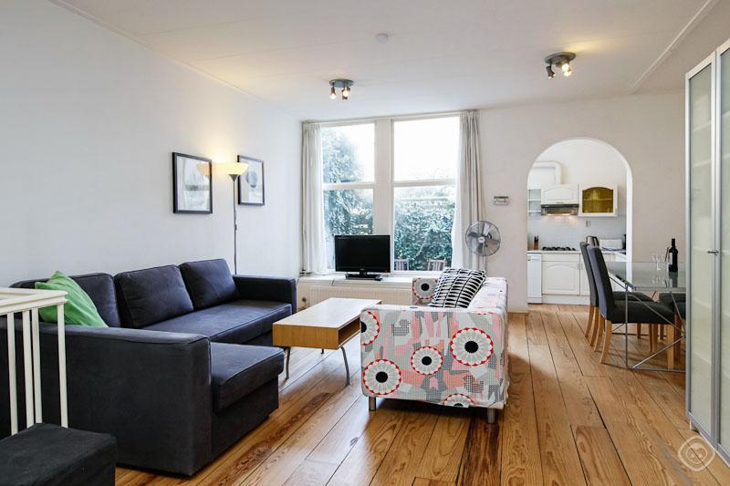Living Room Laurierdwarsstraat Apartment Amsterdam - Laurierdwarsstraat Apartment - Amsterdam - rentals