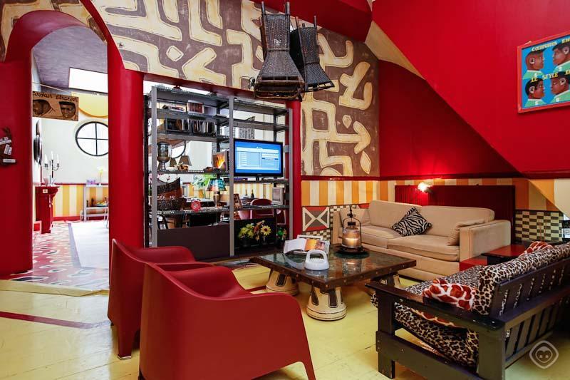 Living Room PataPata Apartment Amsterdam - PataPata apartment Amsterdam - Amsterdam - rentals