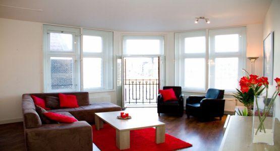Living Room Damrak E Apartment Amsterdam - Damrak E - Amsterdam - rentals