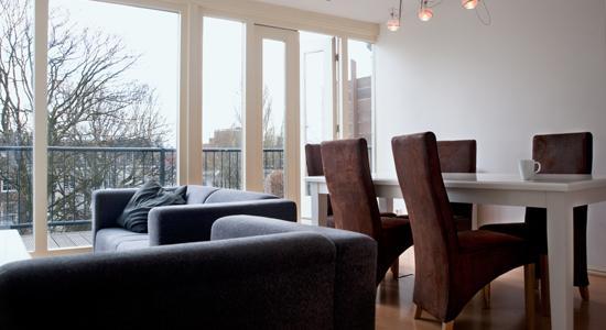 Living Room Golden Seahorse Apartment Amsterdam - Golden Seahorse Apartment - Amsterdam - rentals