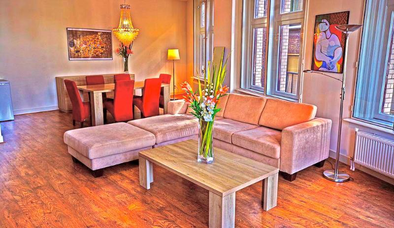 Living Room Damrak C Apartment Amsterdam - Damrak C - Amsterdam - rentals