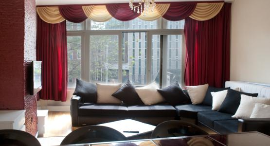 living room Vintage Wine apartment Amsterdam  - Vintage Wine Apartment - Amsterdam - rentals