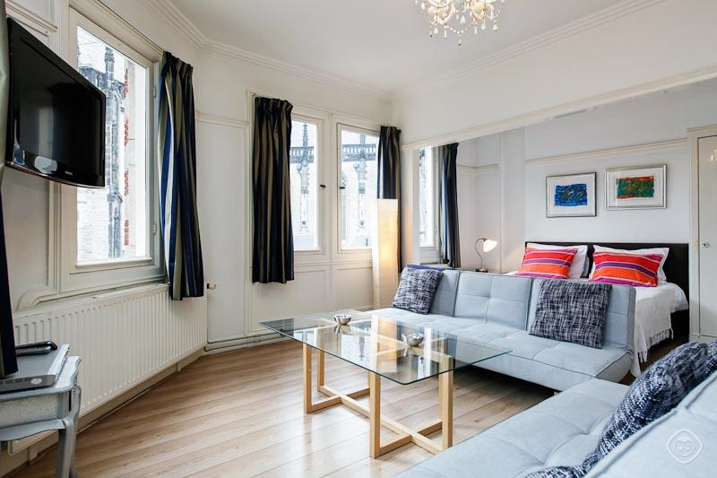 Living Room Dam Square Panoramic Apartment Amsterdam - Dam Square Panoramic - Amsterdam - rentals