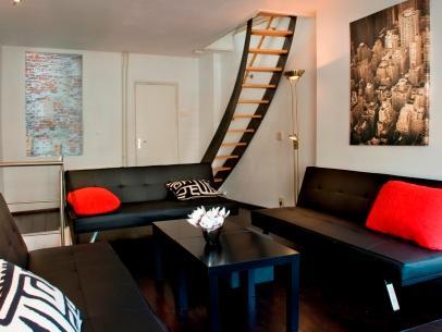 Living Room Canal De Jordaan Duplex Apartment Amsterdam - Canal De Jordaan Duplex - Amsterdam - rentals