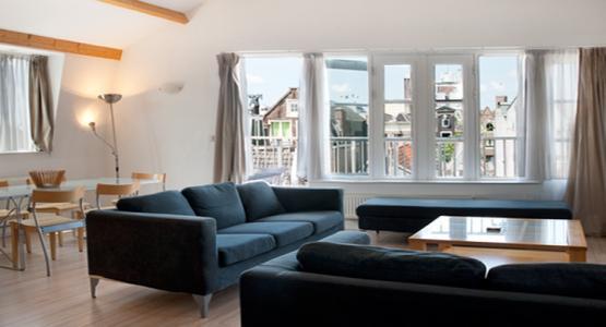 Living Room Penthouse Elite Apartment Amsterdam - Penthouse Elite - Amsterdam - rentals