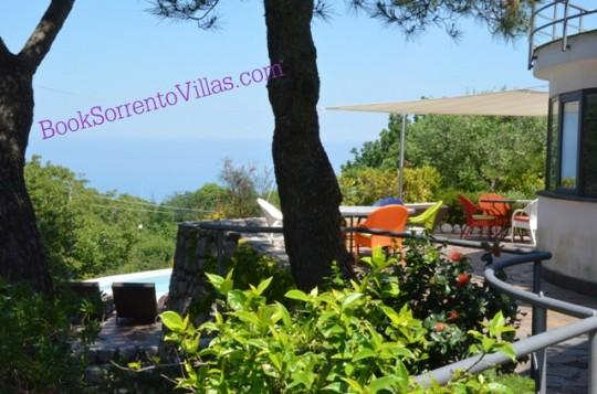 VILLA TIZI - SORRENTO PENINSULA - Sant'Agata Sui Due Golfi - Image 1 - Sant'Agata sui Due Golfi - rentals