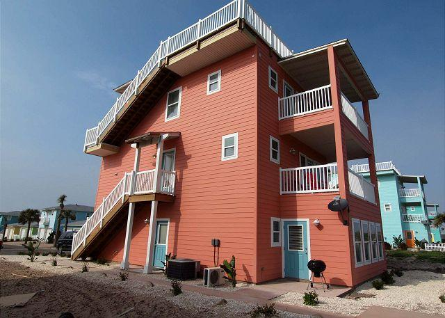 Lots of covered decks to enjoy the gulf breeze and views.  A 4th floor Widows Walk for panoramic views! - 4 bedroom 3.5 bath new construction in fabulous Village Walk! - Port Aransas - rentals