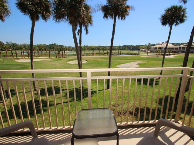 View from balcony - Plantation Club, 432 - Hilton Head - rentals