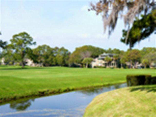 Lagoon and golf view - Twin Oaks Villas, 179 - Hilton Head - rentals