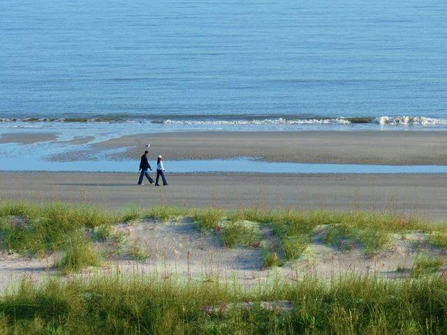 View from balcony - Island Club, 5501 - Hilton Head - rentals