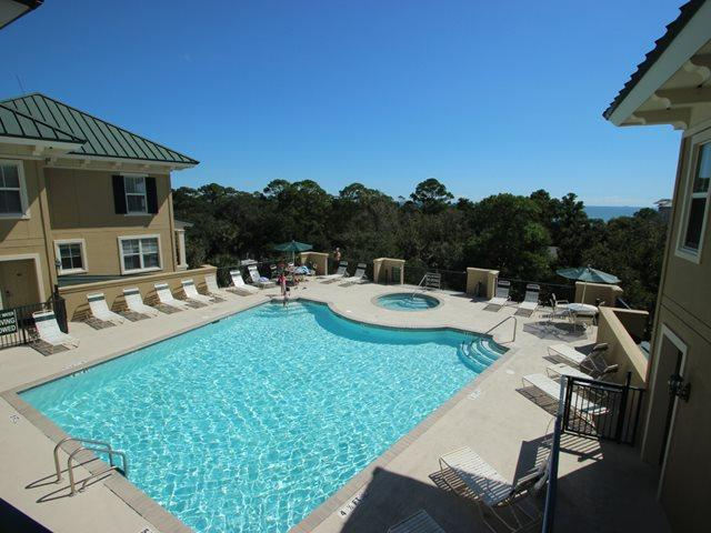 Pool on rooftop -  - Hilton Head - rentals