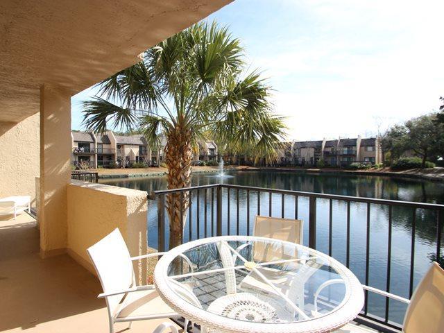 Balcony - Island Club, 103 - Hilton Head - rentals