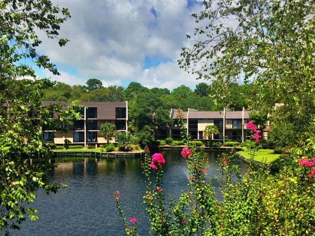 View from balcony - Island Club, 151 - Hilton Head - rentals