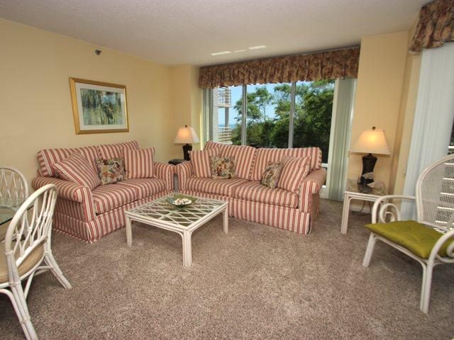 Living area -  - Hilton Head - rentals