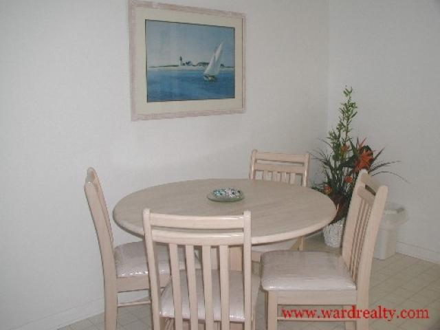 Dining Area - Anderson - Surf City - rentals