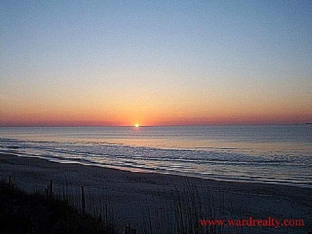 Sunrise over the Atlantic Ocean - Attitude Adjustment - Surf City - rentals