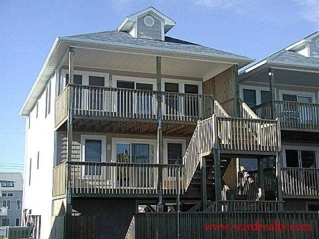 Oceanfront Exterior - Attitude Adjustment - Surf City - rentals