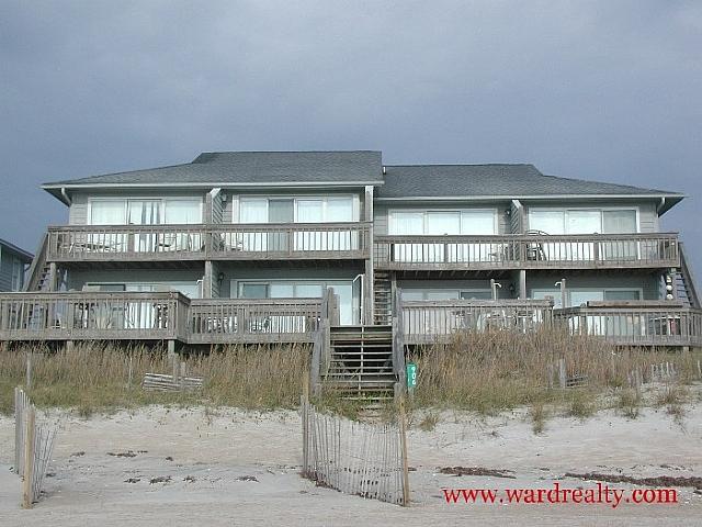 Oceanfront Exterior - Barefoot Elegance - Surf City - rentals