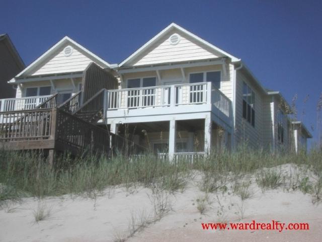 Oceanfront Exterior - 5 BR, Oceanfront, Hot Tub, Sparkling Ocean Views - Beach Baby - Surf City - rentals