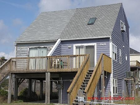 Brown Pelican exterior - Brown Pelican - North Topsail Beach - rentals