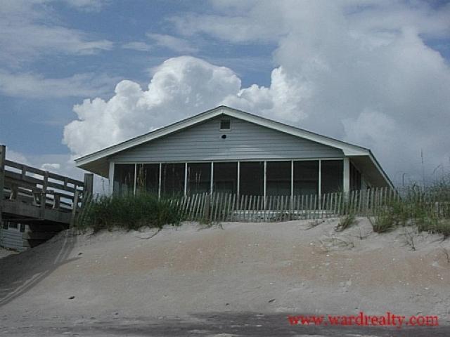Oceanfront Exterior - Gang Plank - North Topsail Beach - rentals