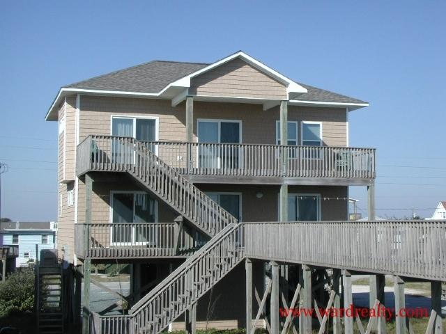 Oceanfront Exterior - Jewel of the Isle - North Topsail Beach - rentals
