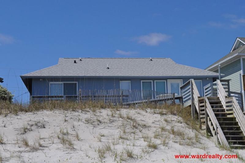 Oceanfront Exterior - Oddd Pelican - Topsail Beach - rentals